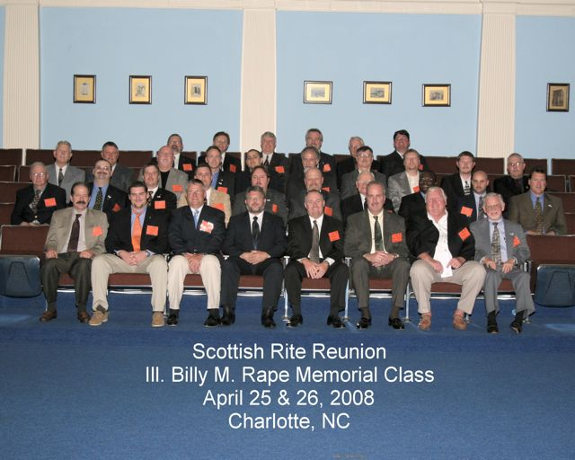 Spring 2008 Reunion Class